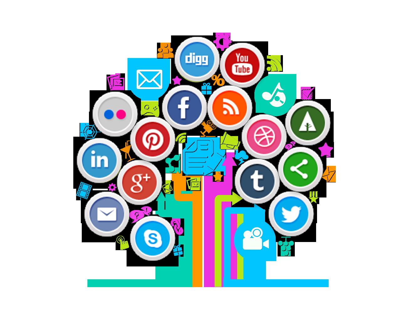 social media-Graphic