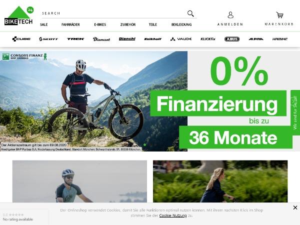 Biketech24 - Fahrradshop - Online Shop